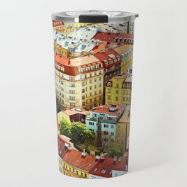 Roofs of Prague Travel Mug