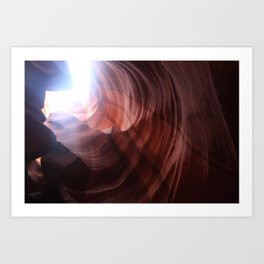 Slot Canyon, 004 Art Print