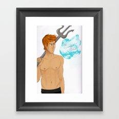 Hunger Games - Finnick Odair Framed Art Print