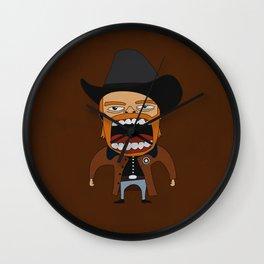 Screaming Walker Texas Ranger Wall Clock