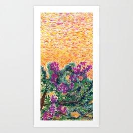 Bougainvillea Tree II Art Print