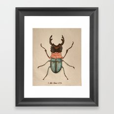 Urban Bug #1 Framed Art Print