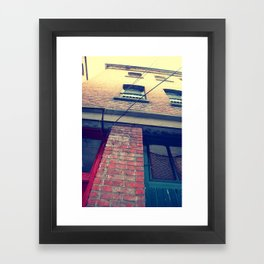 Only up from here... Framed Art Print