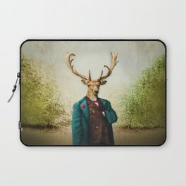 Lord Staghorne in the wood Laptop Sleeve