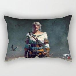 The Witcher - Ciri Rectangular Pillow