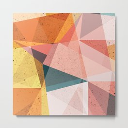 Modern Geometric 66 Metal Print