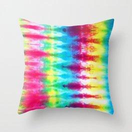 Boho Tie Dye Throw Pillow
