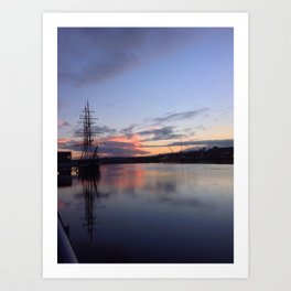 New Ross Ship Art Print