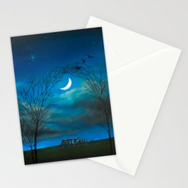 The Moon Gate Stationery Cards