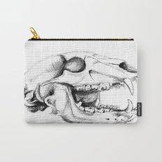 Bear Skull Carry-All Pouch