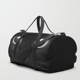 Black Cat Face Duffle Bag