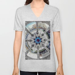 Mandala square Unisex V-Neck