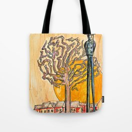 Sunset Hill Tote Bag
