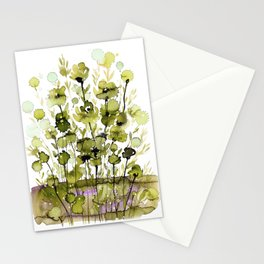 Floral Charm No.1H by Kathy Morton Stanion Stationery Cards