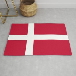 Danish Flag - Flag of Denmark Rug