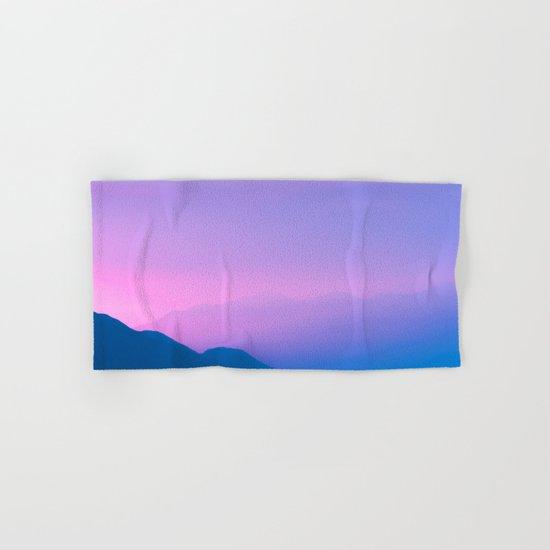 Sunset Layers Hand & Bath Towel