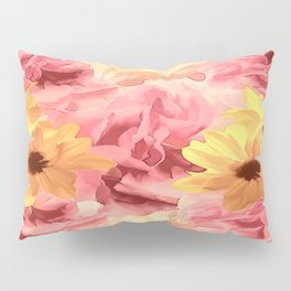 Summer Day Floral Pillow Sham