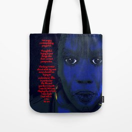 Angry Black Woman Tote Bag