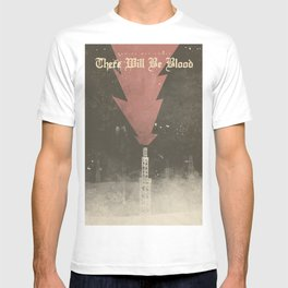 There will be blood, alternative movie poster, Daniel Day Lewis, Paul Thomas Anderson, Paul Dano T-shirt