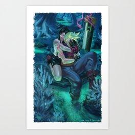 Her Legacy Art Print