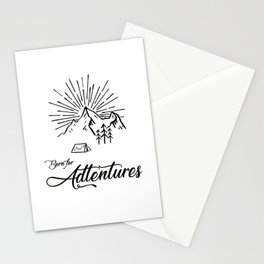 Born for Adtentures Stationery Cards