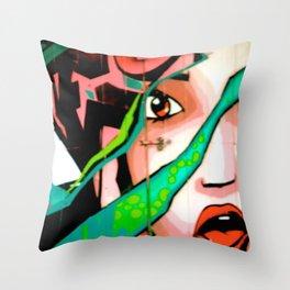 A Stunner Throw Pillow