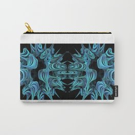 Abstract Fractals Number 25. Carry-All Pouch