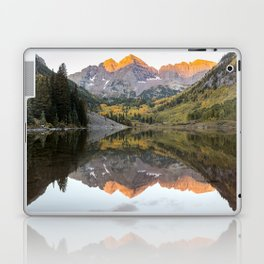 Maroon Bells Laptop & iPad Skin
