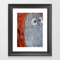 Owlie Framed Art Print