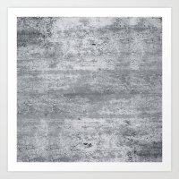 concrete Art Prints featuring Concrete by Grace