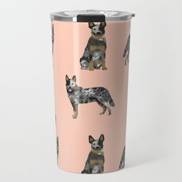 Australian Cattle Dog blue heeler dog breed gifts for cattle dog owners Travel Mug