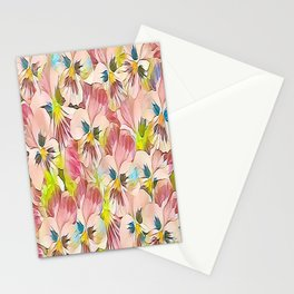 Abundance Of Pink Pansies Stationery Cards
