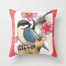 CHICKBONE Throw Pillow