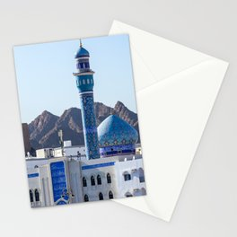 Muttrah Mosque - Muscat, Oman Stationery Cards