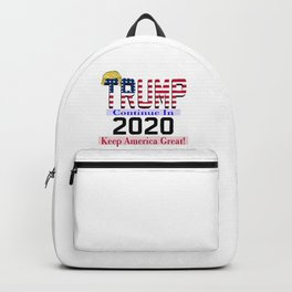 TRUMP Continue In 2020 Backpack