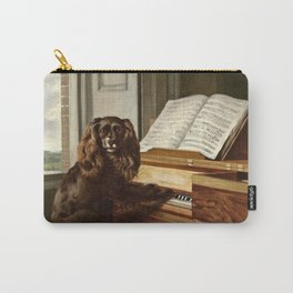 Philip Reinagle - Portrait Of An Extraordinary Musical Dog Carry-All Pouch