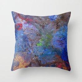 mistic nature Throw Pillow