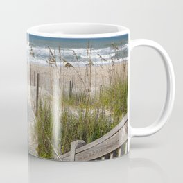 Peaceful Beach Scene Coffee Mug