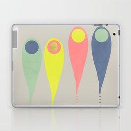 Vintage minimal improvisation 7 Laptop & iPad Skin