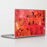 snoopy Laptop & iPad Skins featuring SNOOPY AAUGH! by d.ts