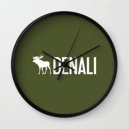 Denali Moose Wall Clock