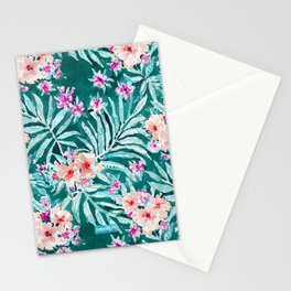 FRONDS ON FLEEK Tropical Palm Floral Stationery Cards