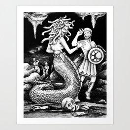 La Gorgone Art Print