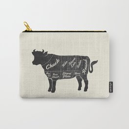 Beef Butcher Diagram Carry-All Pouch