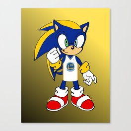 Golden State Chaos Canvas Print