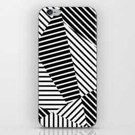 Abstract Striped Triangles iPhone Skin