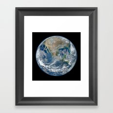 The Blue Marble Framed Art Print