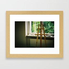 Painting time Framed Art Print