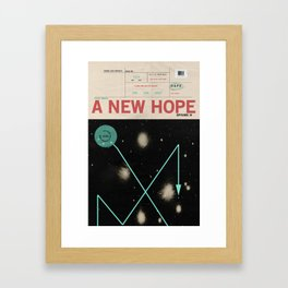 Hope, Empire, Return Framed Art Print