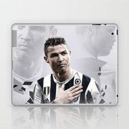 Cristiano Ronaldo Juve Laptop & iPad Skin